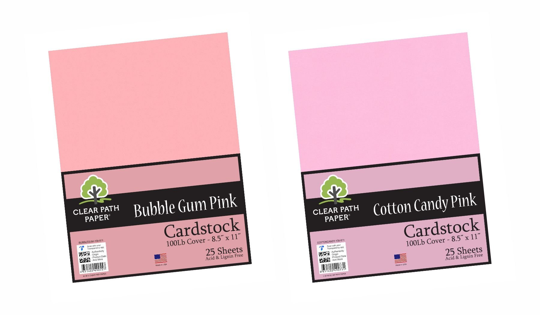 Image of the Cotton Candy Pink + Bubble Gum Pink #1 Bundle