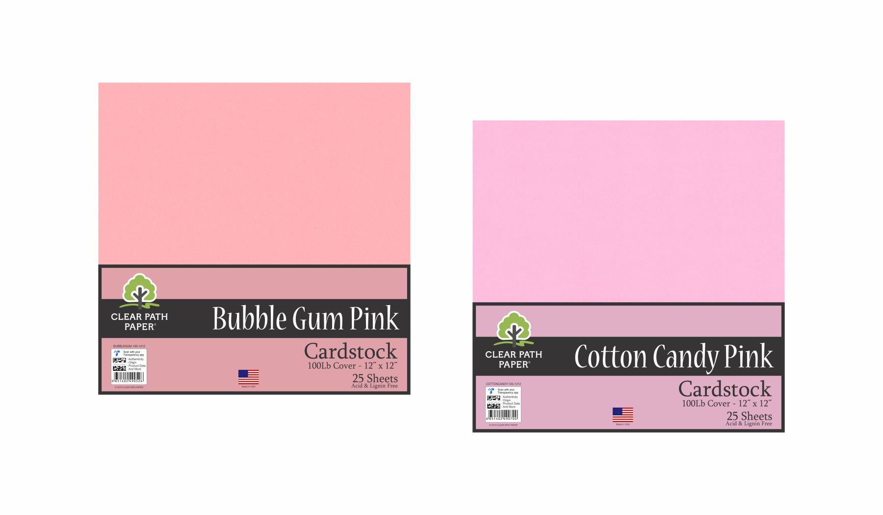 Image of the Cotton Candy Pink + Bubble Gum Pink #2 Bundle
