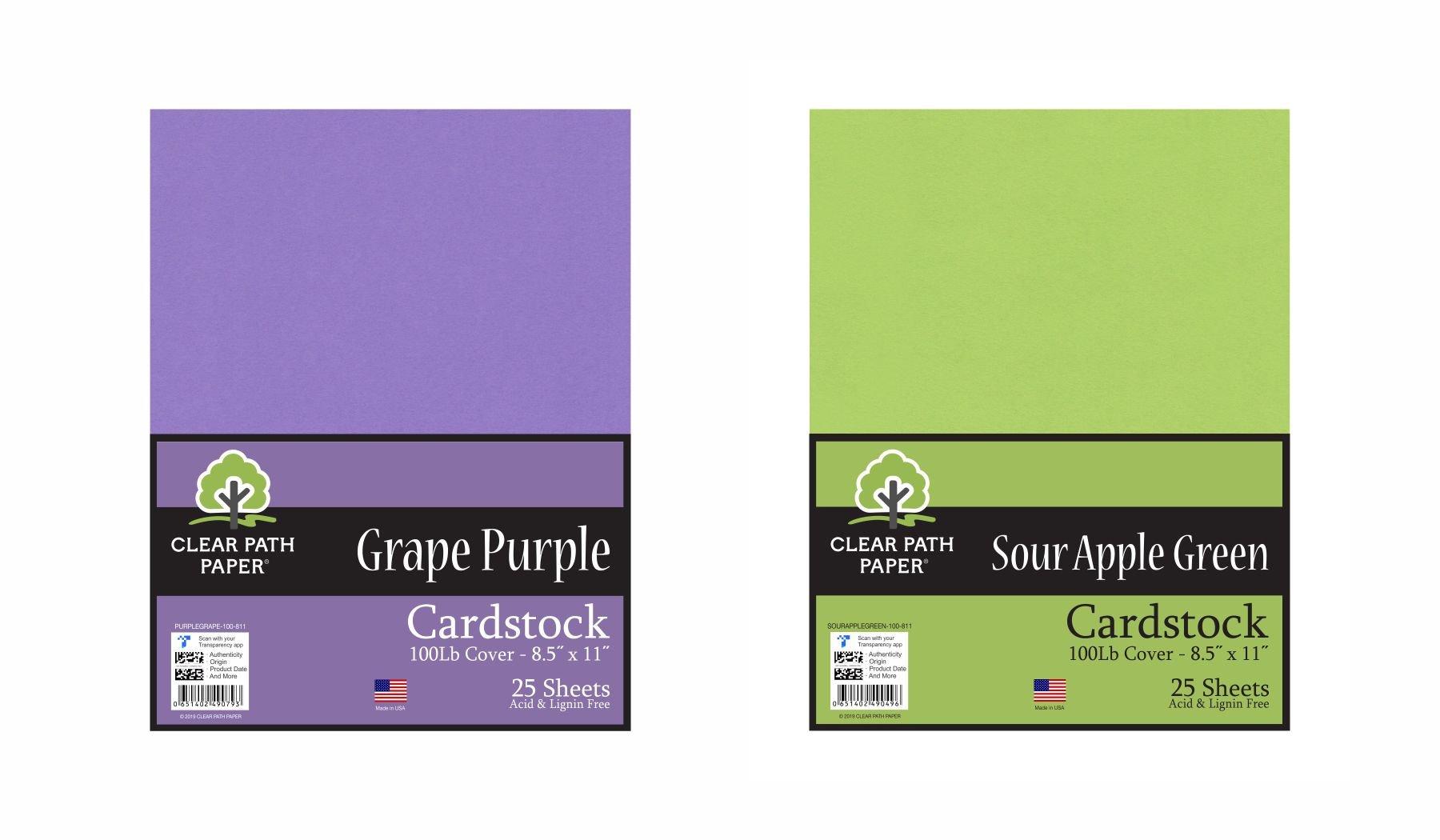 Image of the Sour Apple Green + Grape Purple Bundle
