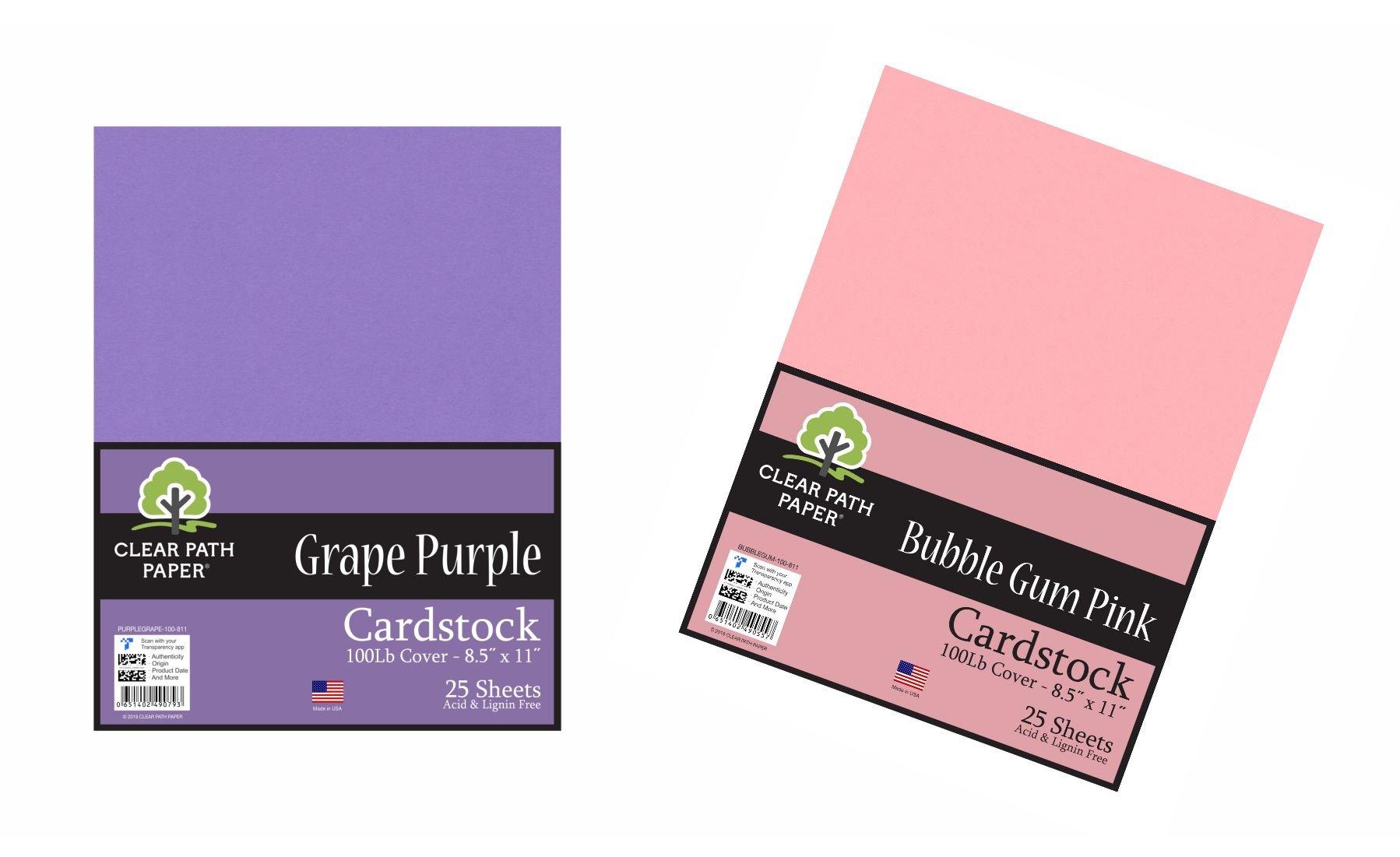 Image of the Grape Purple + Bubble Gum Pink Bundle