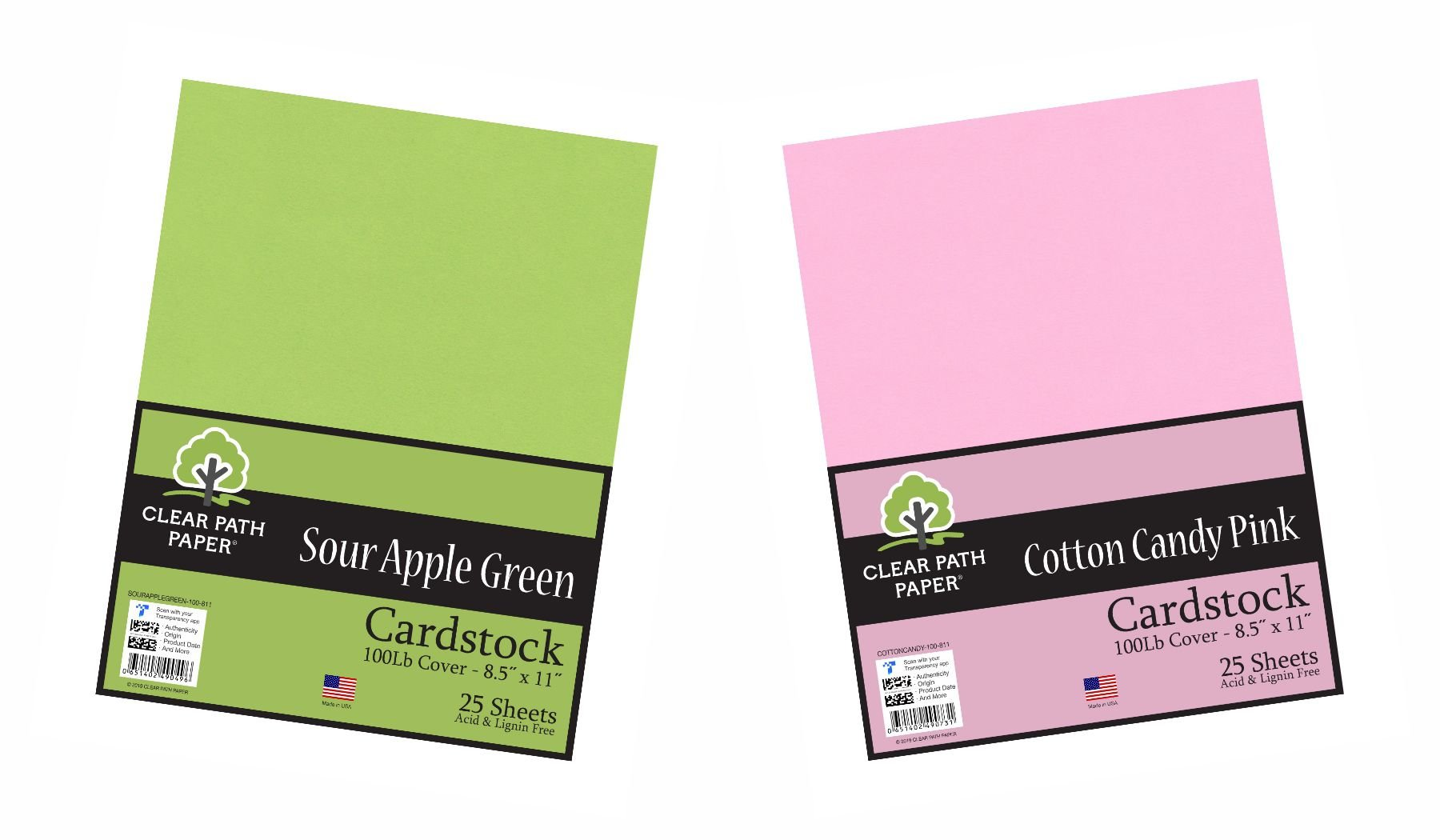Image of the Sour Apple Green + Cotton Candy Pink Bundle