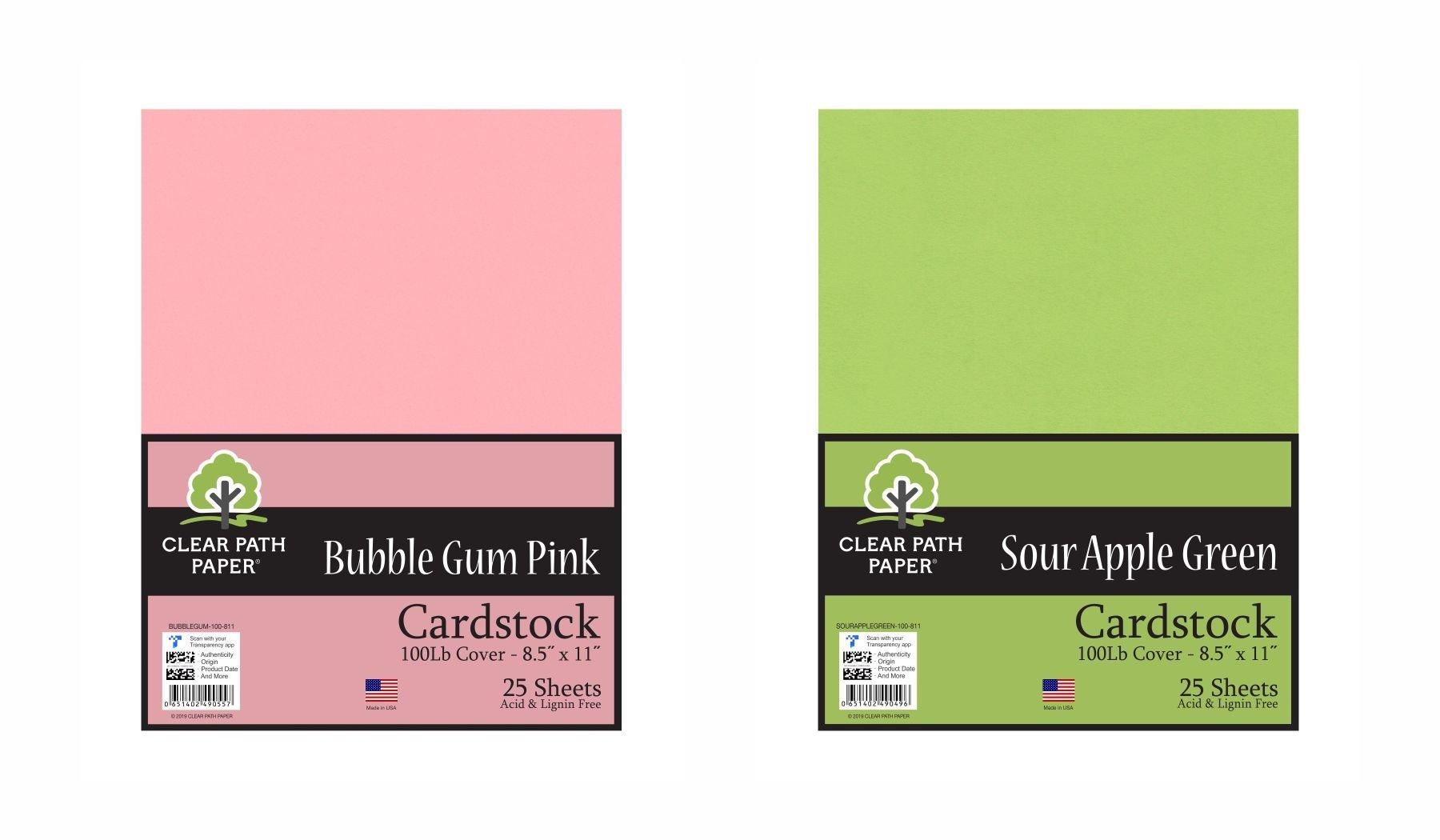 Image of the Sour Apple Green + Bubble Gum Pink Bundle