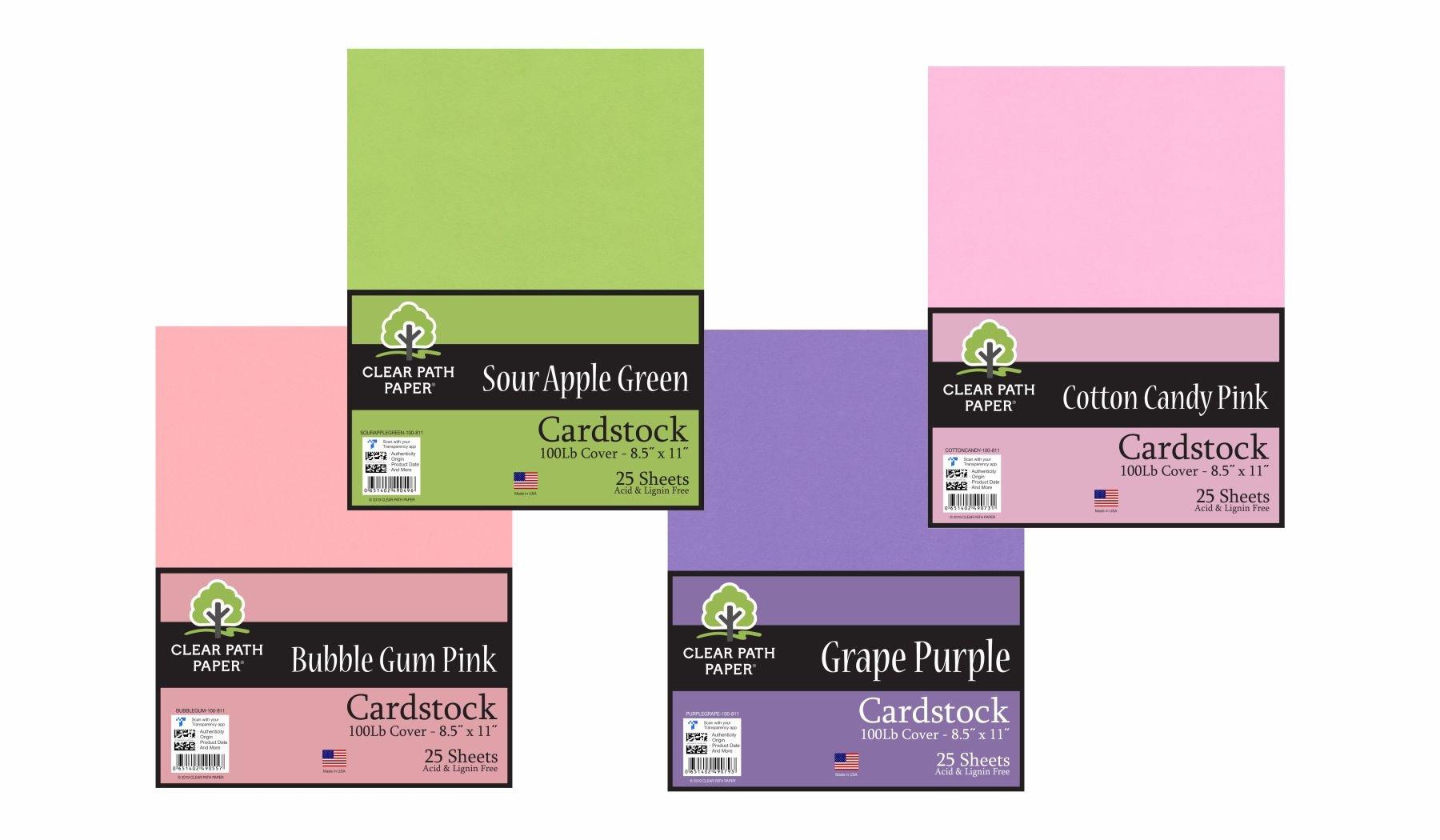 Image of the Cotton Candy Pink, Sour Apple Green, Grape Purple, + Bubble Gum Pink Bundle