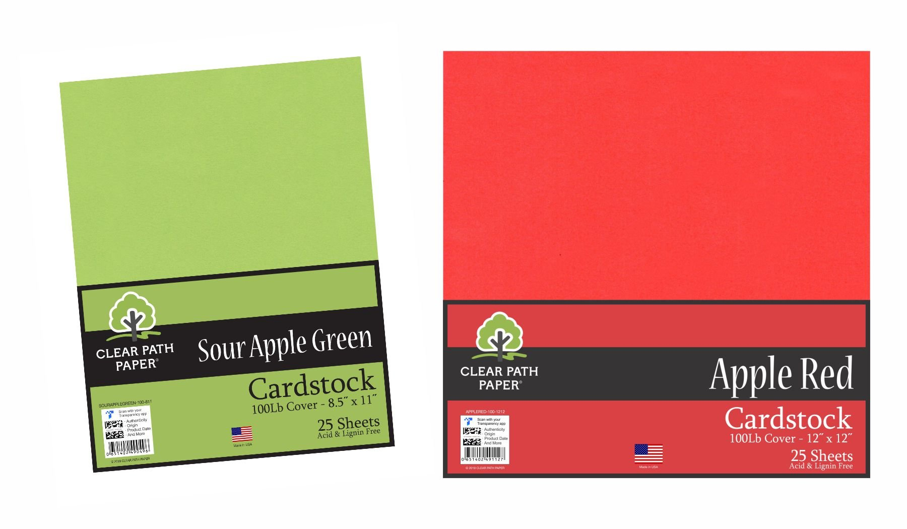 Image of the Sour Apple Green + Apple Red Bundle