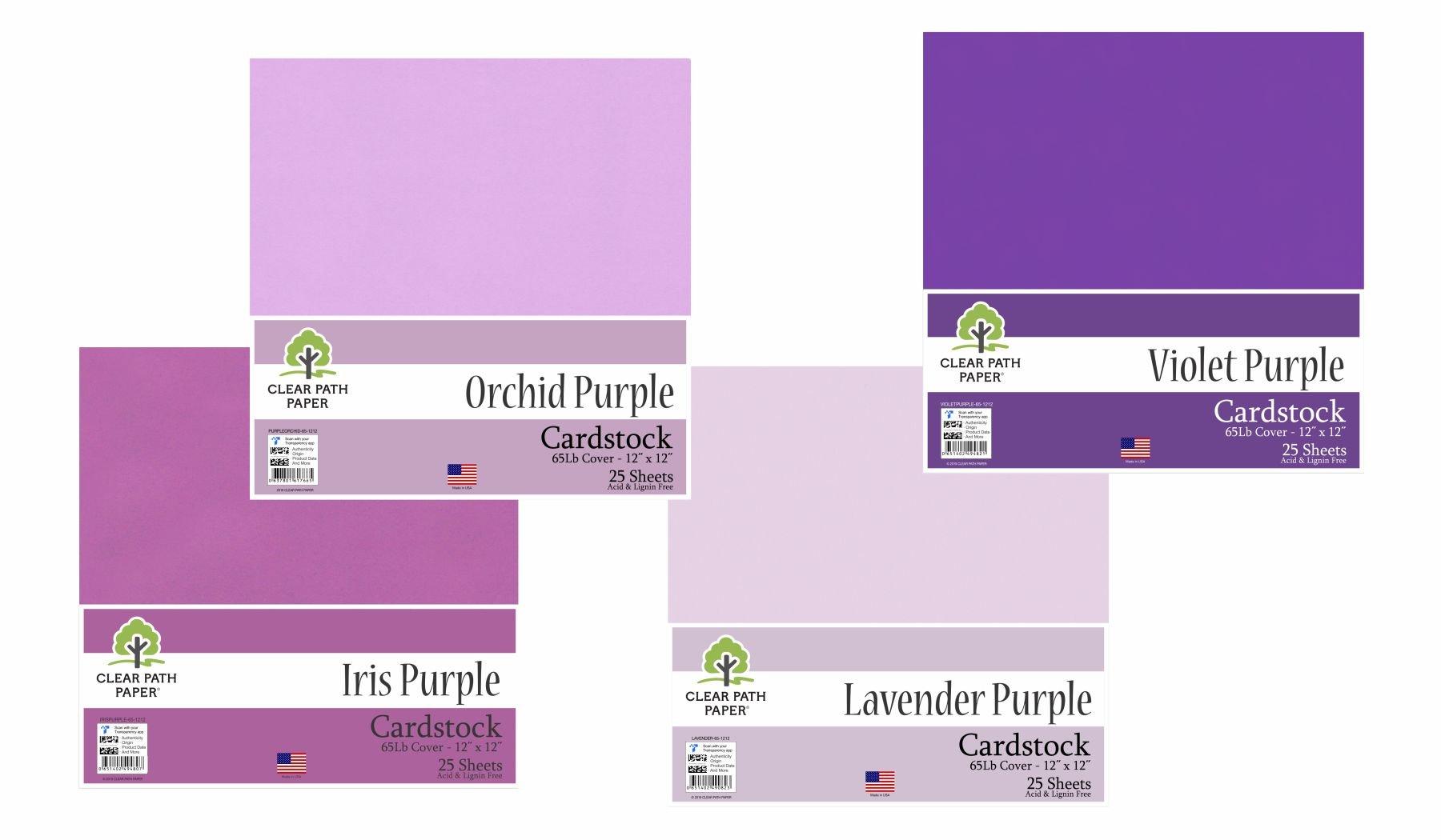 Image of the Lavender Purple / Orchid Purple / Iris Purple / Violet Purple Bundle