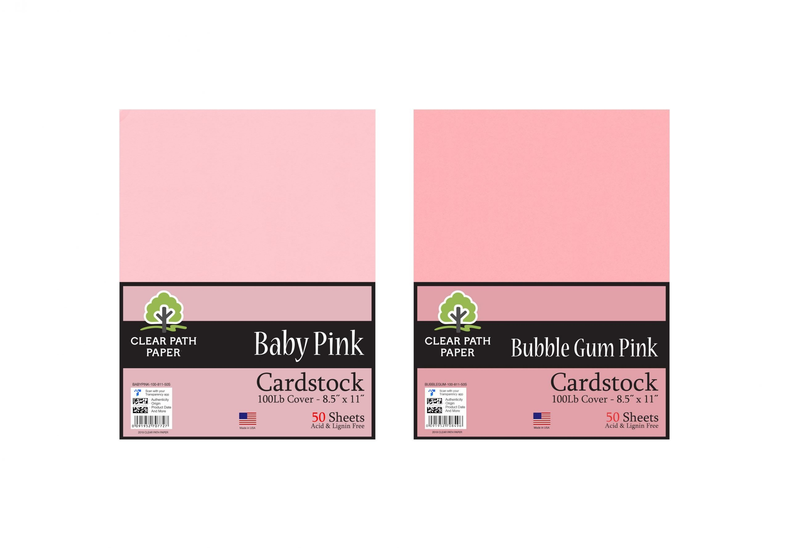 Baby Pink / Bubble Gum Pink