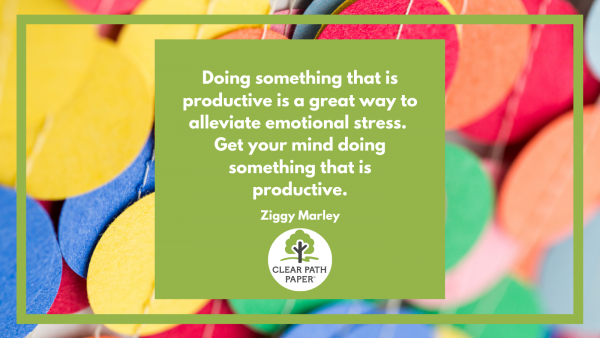 """A quotation by Ziggy Marley: """"Doing something is a great way to alleviate emotional stress. Get your mind doing something that is productive."""""""