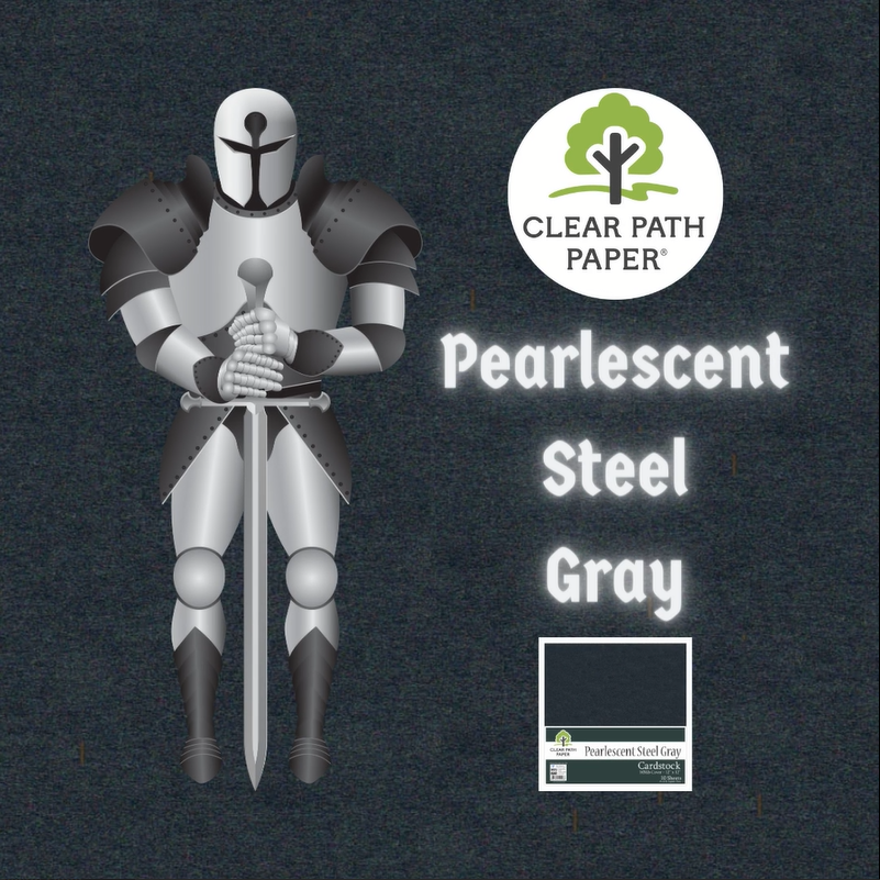 Pearlescent Steel Gray