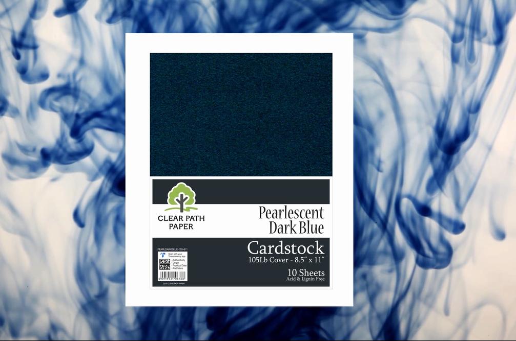 Pearlescent Dark Blue
