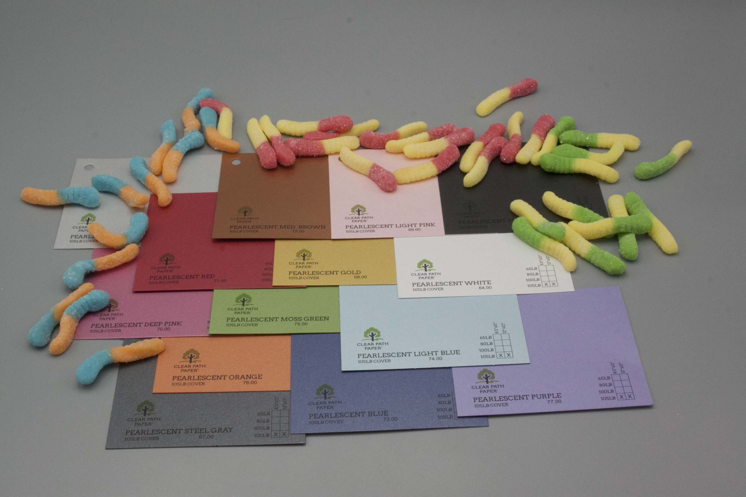 Image of Albanese Gummi Candies with Pearlescent Cardstock