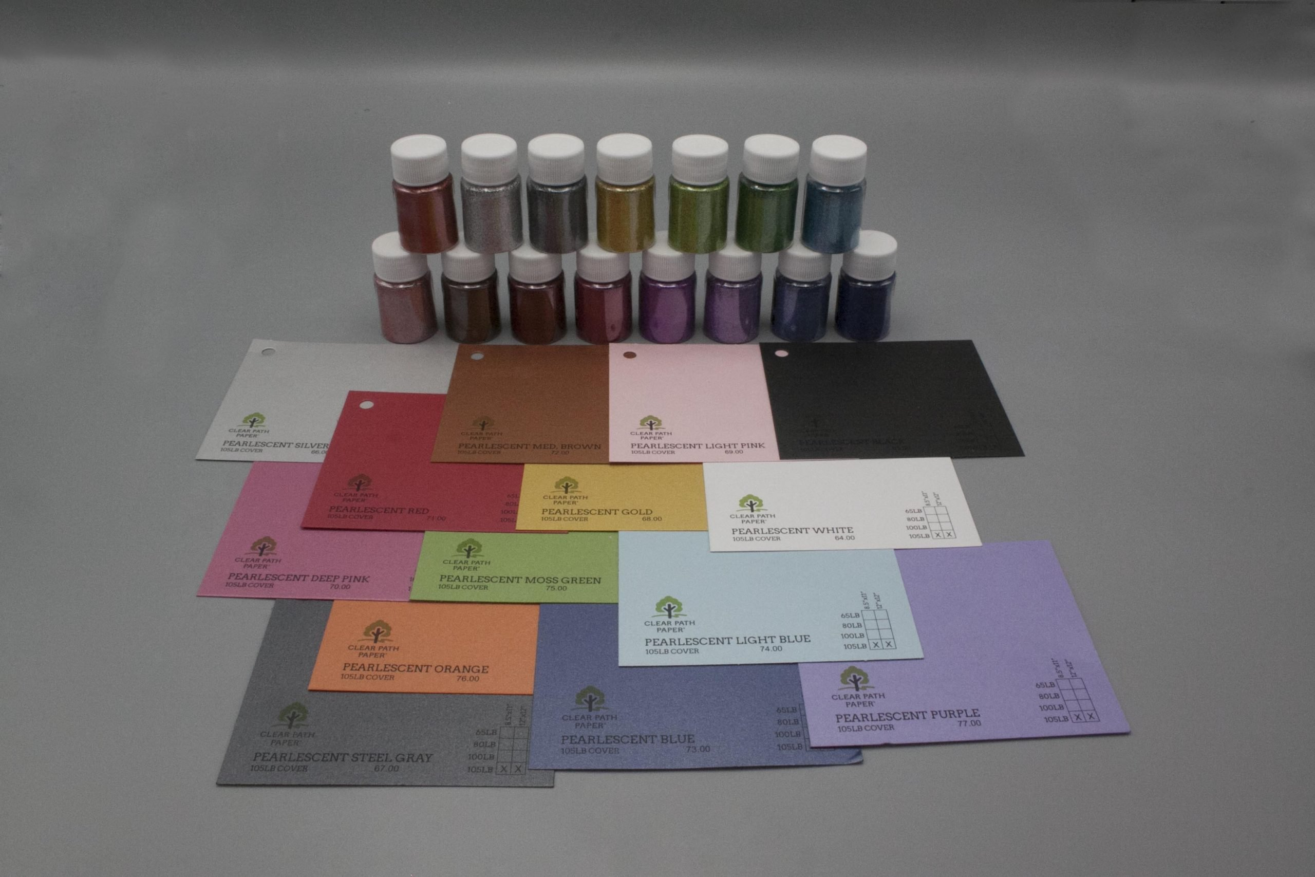 Image of LETS RESIN Glitter Powder with Pearlescent Cardstock