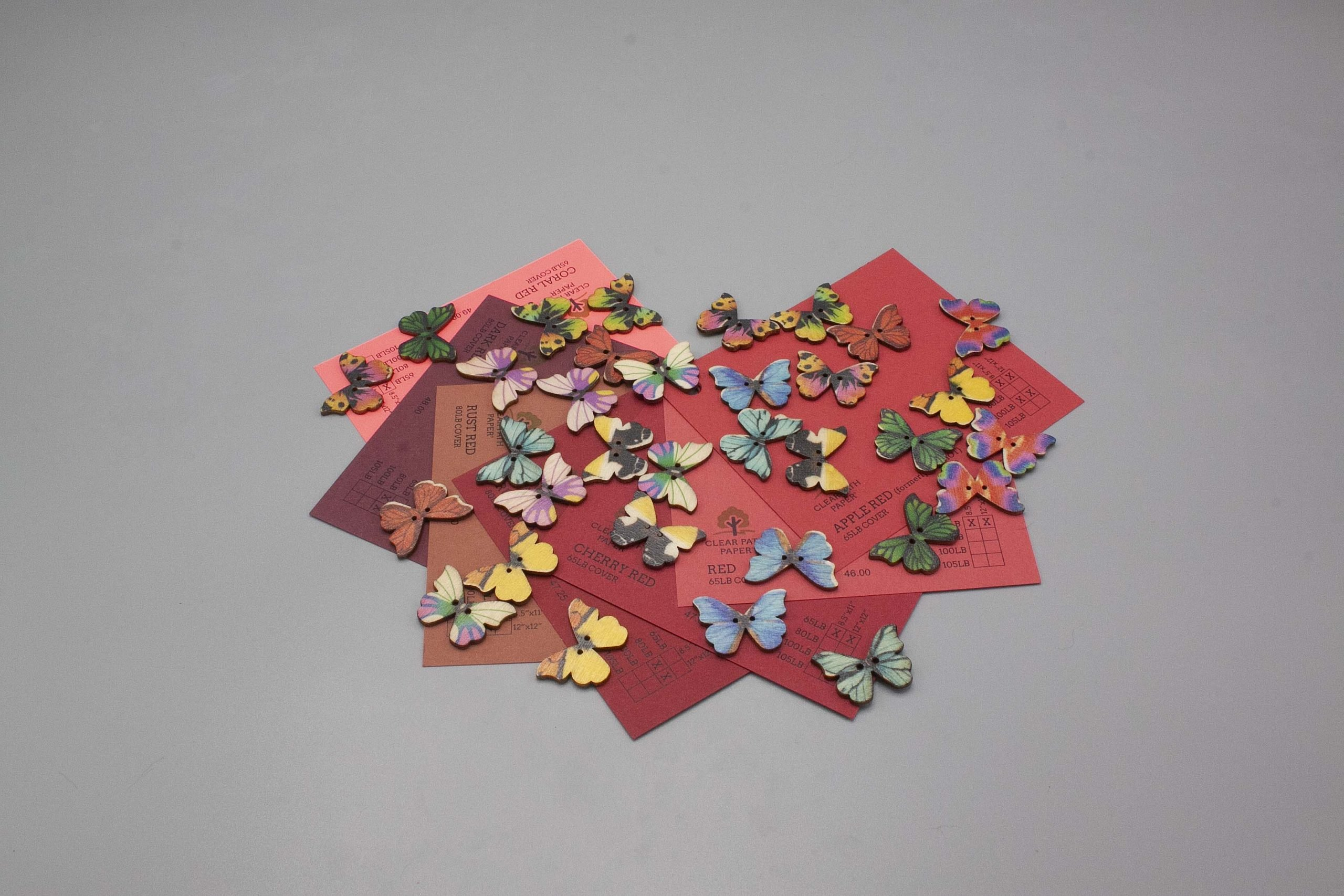 Image of Easy 99 Butterfly Buttons