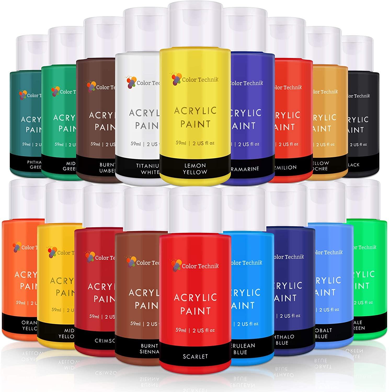 An image of Color Technik Acrylic Paints